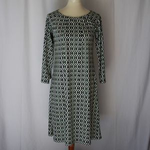 DKNY shift small modest comfy casual dress pullove